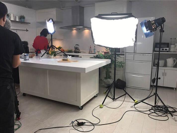 NHK「あさイチ」 キッチンスタジオでの収録 2017.5.10 OA
