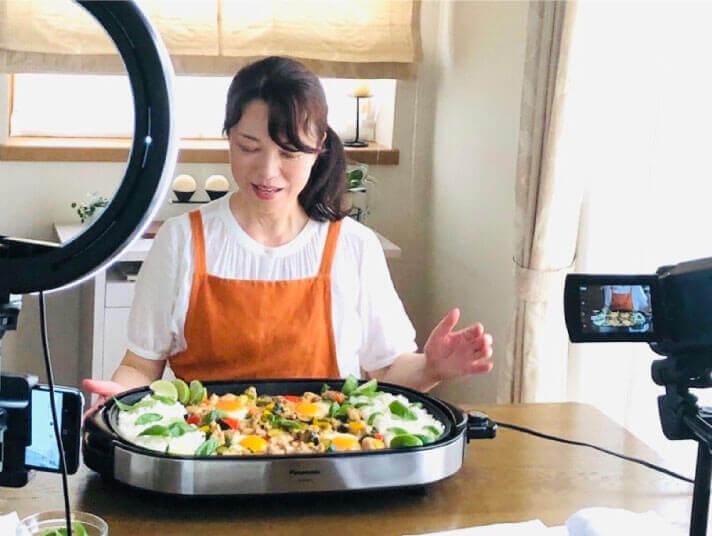 NHK「ひるまえほっと」 自宅でのリモート収録 2021.6.22 OA